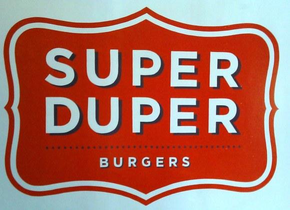 Super duper burger logo