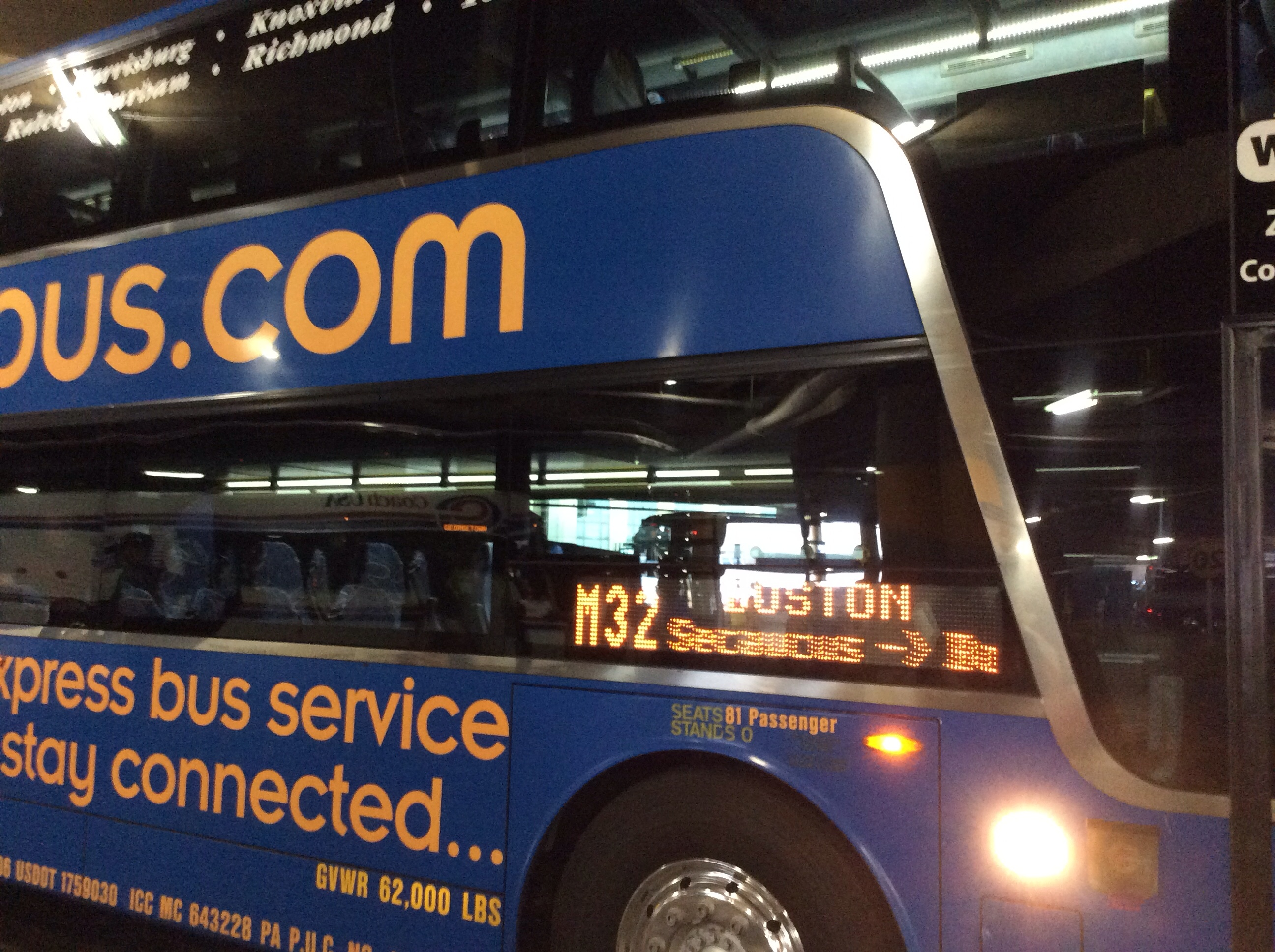 megabus | Snotting black